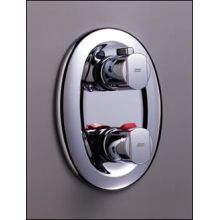Faucet Thermostatic Valve Trim Double Handle from the Ceratherm series