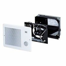 Wall Heater Finish Pack with Grille and 500W Heater - Includes Thermostat