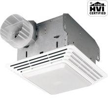 100 CFM 4 Sone Ceiling Mounted HVI Certified Bath Fan with Light