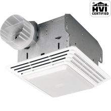 50 CFM 1.5 Sone Ceiling Mounted HVI Certified Utility Fan with Light