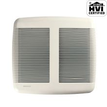 110 CFM 1.3 Sone Ceiling Mounted Energy Star Rated and HVI Certified Bath Fan from the QT Collection