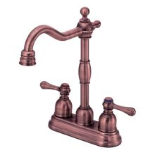 Double Handle Bar Faucet from the Opulence Collection