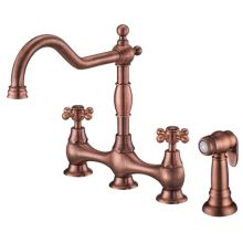 Kitchen Faucet - Includes Metal Side Spray From the Opulence Collection
