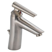 Single Handle Centerset Bathroom Faucet with Drain Assembly and Diamond Seal Technology from the Rizu Collection (Low Lead Compliant)