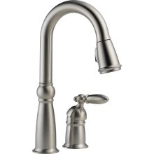 Victorian Pull-Down Bar/Prep Faucet with Magnetic Docking Spray Head - Includes Lifetime Warranty