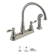 Windemere Kitchen Faucet with Side Spray - Includes Lifetime Warranty