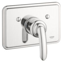 Talia Thermostatic Valve Trim Grohtherm with Metal Volo Lever Handle