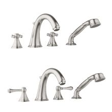 Geneva Roman Tub Filler Faucet with Personal Hand Shower