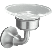 Classic Round Soap Dish from the Forte Collection