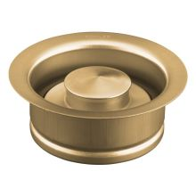 Solid Durable Disposal Flange and Stopper for Standard Garbage Disposals