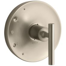 Purist Single Handle Rite-Temp Pressure Balanced Valve Trim Only with Metal Lever Handle