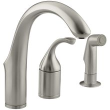 Single Handle Bar Faucet with Sidespray from the Forte Collection