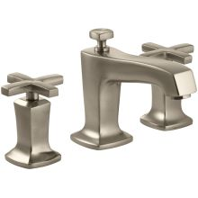 Margaux Widespread Bathroom Faucet with Ultra-Glide Valve Technology - Free Metal Pop-Up Drain Assembly with purchase
