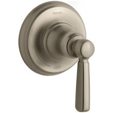 Bancroft Single Handle Volume Control Trim with Metal Lever Handle