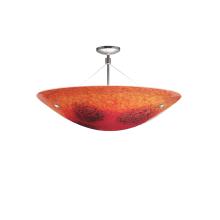 LBL Lighting Veneto Venti Pendant Red 100W