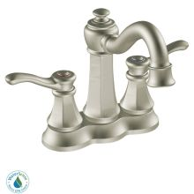 Double Handle Centerset Bathroom Faucet from the Vestige Collection (Valve Included)
