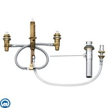 1/2 Inch IPS Bidet Rough-In Valve with 6 Inch - 16 Inch Centers from the M-PACT Collection
