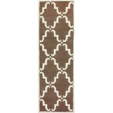 nuLOOM Rugs Brown Hand Tufted Divina