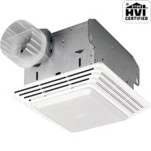 Heavy Duty Fan, Light, 50 CFM, 1.5 Sones