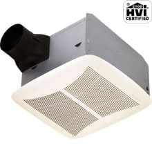 110 CFM 1.5 Sone Ceiling Mounted HVI Certified Bath Fan from the QT Collection