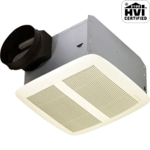 50 CFM 0.3 Sone Ceiling Mounted Energy Star Rated HVI Certified Bath Fan from the QT Collection