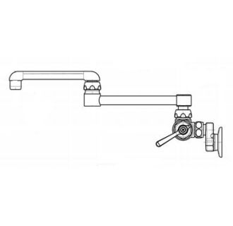 Chicago Faucets 445-DJ13XKAB