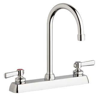 Chicago Faucets W8D-GN2AE35-369AB