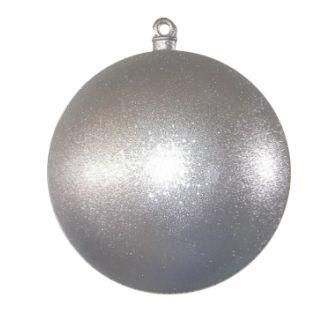Christmas at Winterland WL-ORN-BALL-600-SLVG