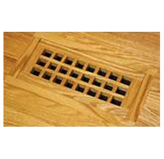 GrillWorks Eggcrate 8x16 Flush w/frame duct opening