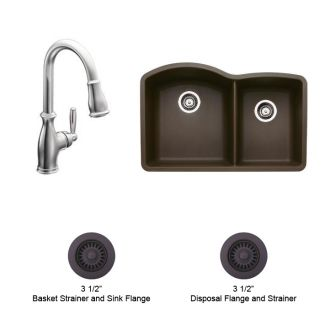 Moen Brantford and Blanco Kitchen Combo 1