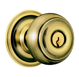 Schlage A79PD-GEO Keyed Entry Door Knob Set
