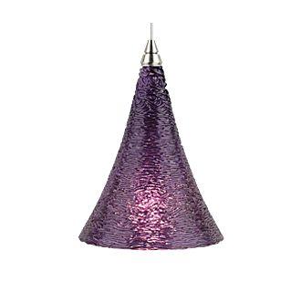 Tech Lighting Sugar Pendant-Violet