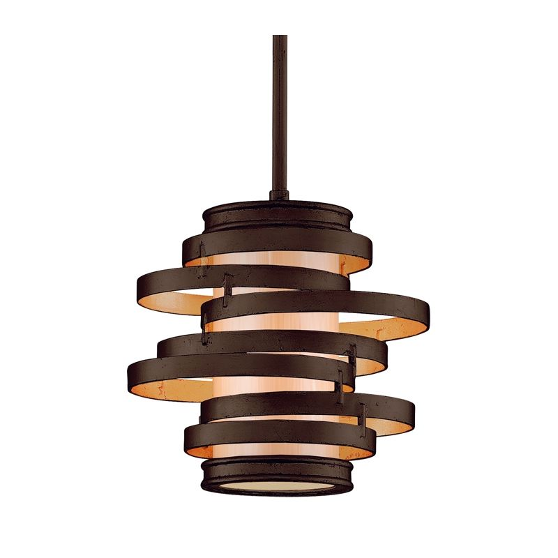 Corbett Lighting 113 41 Bronze With Gold Leaf Pendant Light