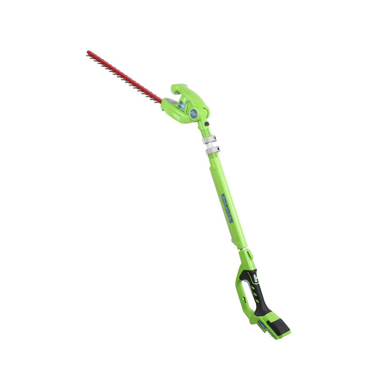 GreenWorks 22152 Electric 20 Inch Dual Action Cordless Hedge Trimmer