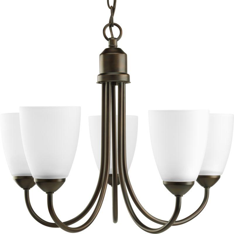 Progress lighting p4441 gather chandelier for Progressive lighting