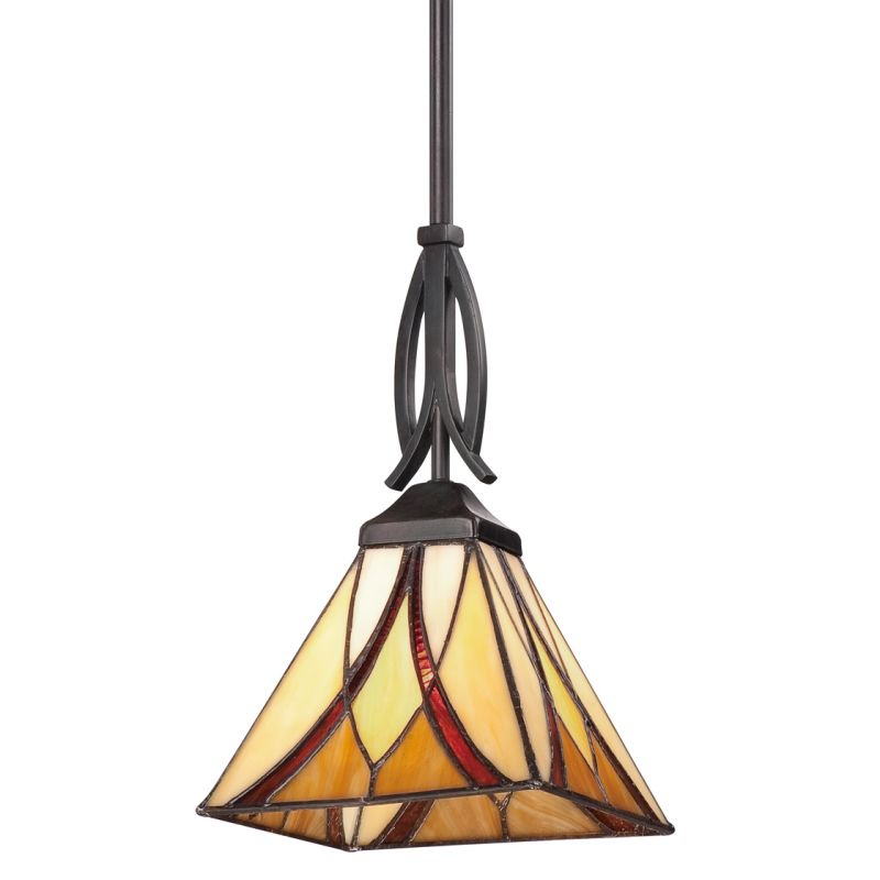 Quoizel TFAS1507VA Valiant Bronze Asheville Pendant Light