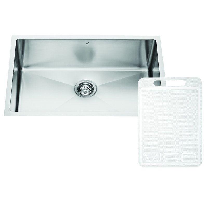 Vigo Sinks : Vigo VGR3019C Stainless Steel Kitchen Sink - Build.com