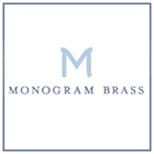Shop Monogram Brass