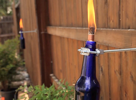 How To Make A Tiki Torch