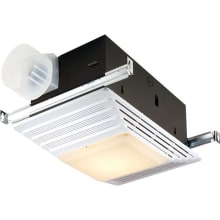 70 CFM 4 Sone Ceiling Mounted HVI Certified Bath Fan with Light