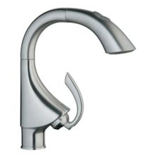WaterCare Bar Faucet with Pullout Spray from the K4 Collection