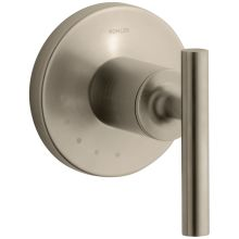 Purist Single Handle Volume Control Valve Trim with Metal Lever Handle