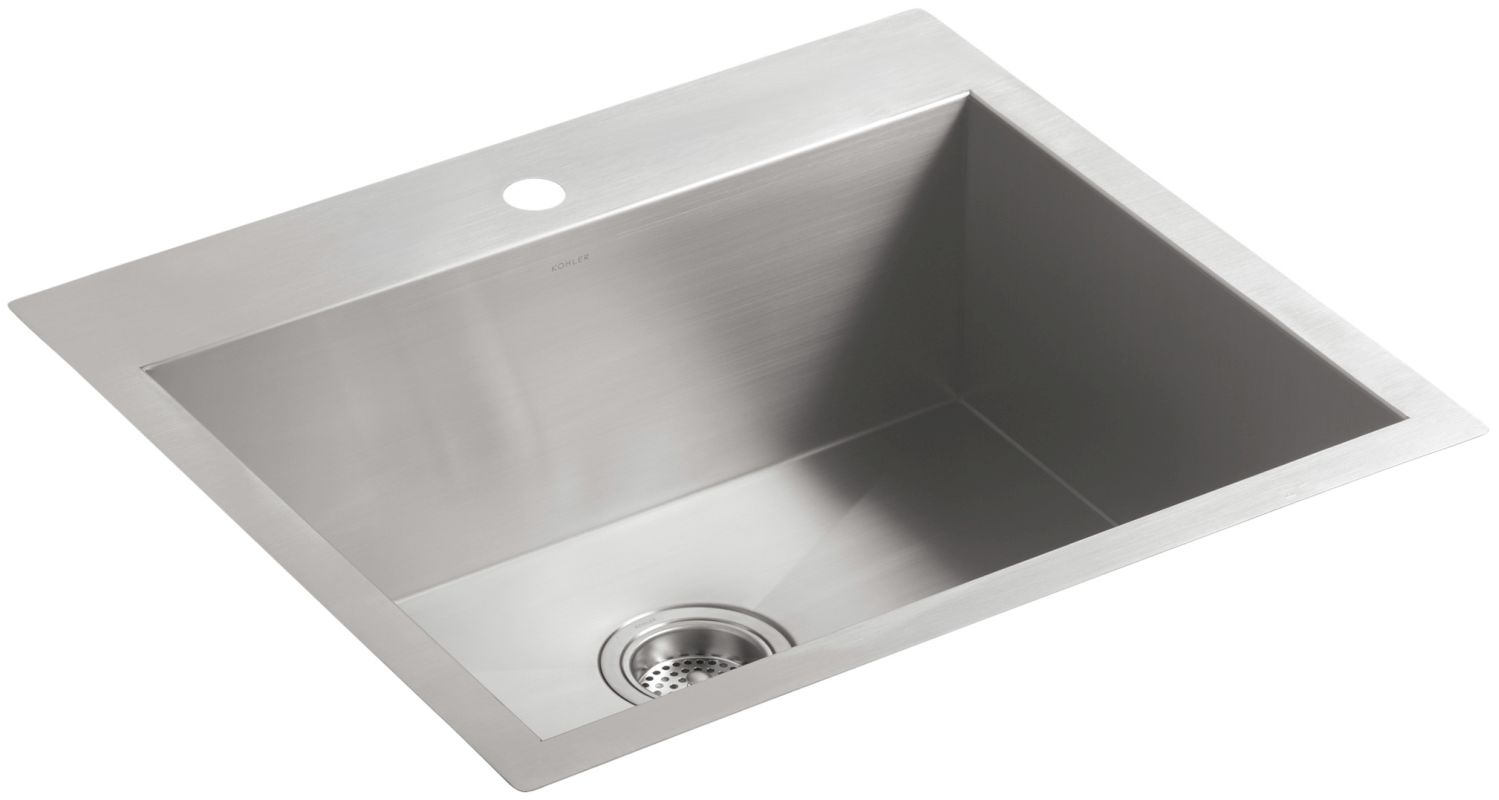Faucet Com K 3822 1 Na In Stainless Steel By Kohler