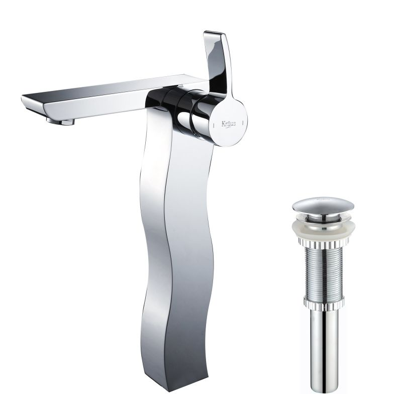 Kef 14600 pu 10ch in chrome by kraus - Kraus shower faucets ...