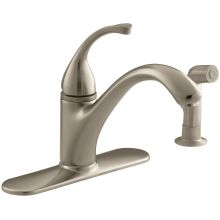 Single Handle Kitchen Faucet with Side Spray from the Forte Collection