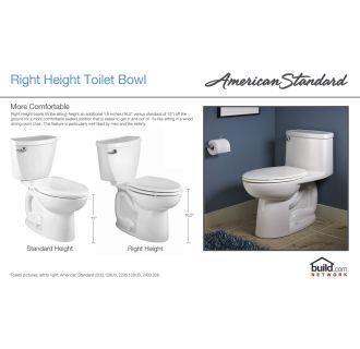 American Standard 2735 014 178 Black Townsend Round Front