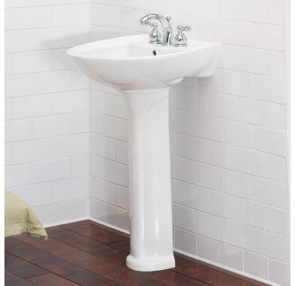 American Standard 0236 001 021 Bone Cadet Pedestal Sink