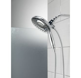 Delta-58469-PK-Installed In2ition Shower Head and Handshower in Chrome