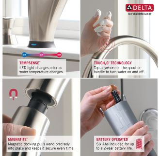 Delta-9159T-DST-Features of this Faucet