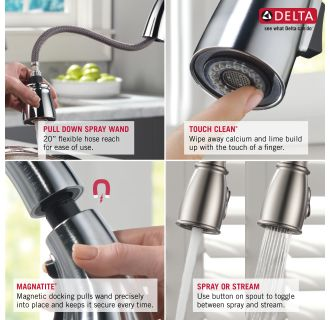 Delta-978-DST-Features of this Faucet